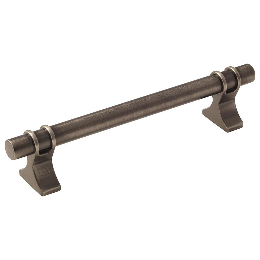 Amerock 10-Pack 128mm Center-to-Center Gunmetal Davenport Bar Cabinet Pulls