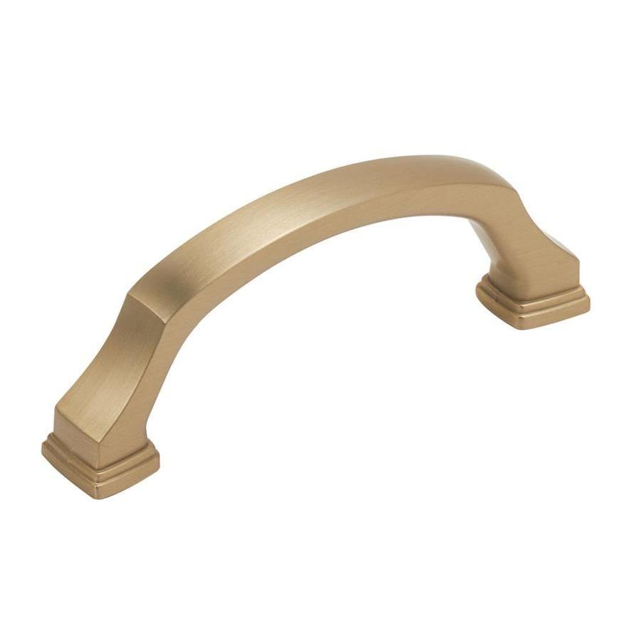 Amerock 25-Pack 3-in Center-to-Center Brushed Bronze Revitalize Bar Cabinet Pulls