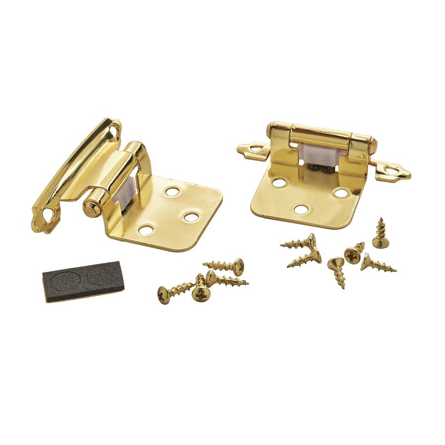 Amerock 2 Pack 3 4 In Polished Bronze Self Closing Soft