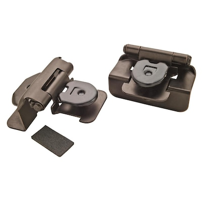 Amerock 2-Pack 1/2-in Oil-Rubbed Bronze Lift-Off Cabinet ...