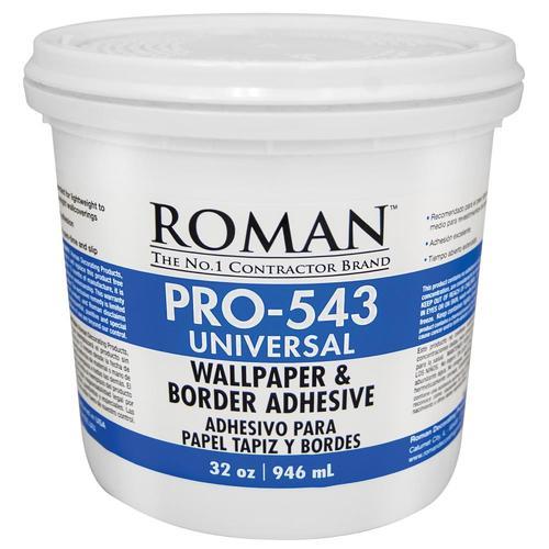 Roman Pro 543 32 Oz Liquid Wallpaper Adhesive At Lowes Com