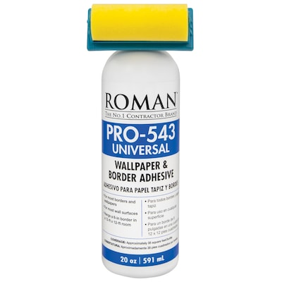 Roman PRO-543 20-oz Liquid Wallpaper Adhesive at Lowes com