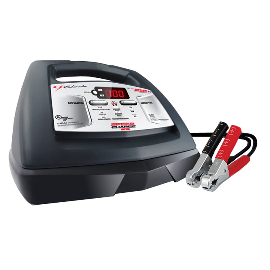 Schumacher Electric Fully Automatic Battery Charger with Engine Start