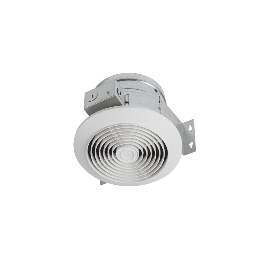 Broan 4.5-Sone 60-CFM White Bathroom Fan