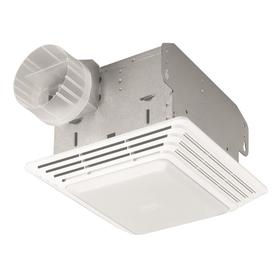 Attirant Broan 2.5 Sone 50 CFM White Bathroom Fan