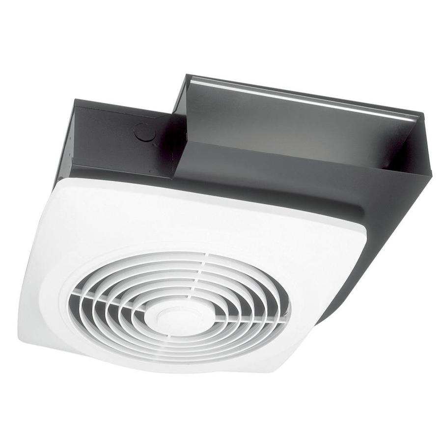 Broan 8-Sone 270-CFM White Bathroom Fan