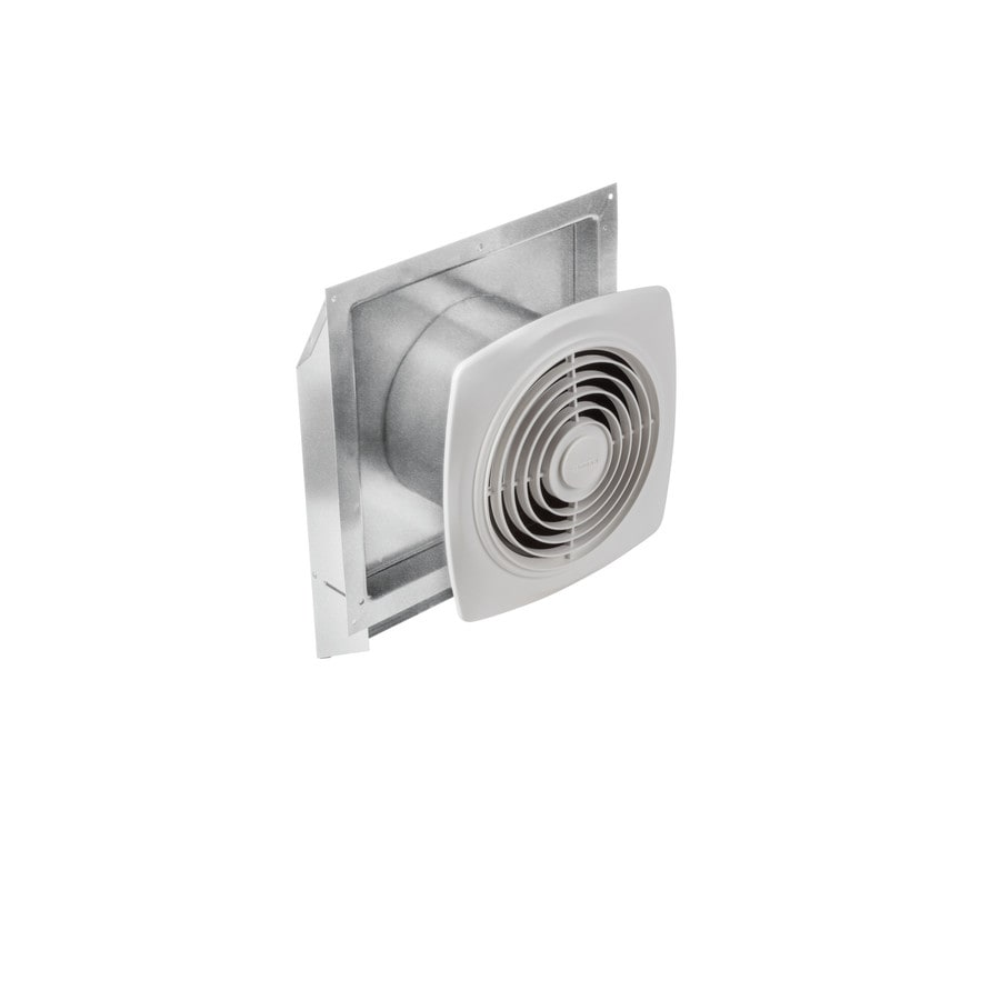 Shop broan 6 sone 270 cfm white bathroom fan at for Bathroom exhaust fan lowes