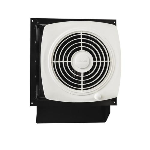 Utility Fans 6.5-Sone 180-CFM White Bathroom Fan