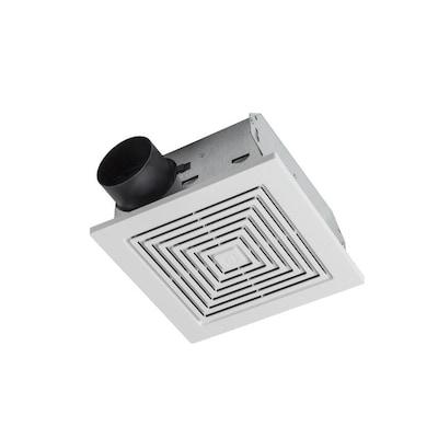 Ventilation Fan 3.5-Sone 50-CFM White Bathroom Fan