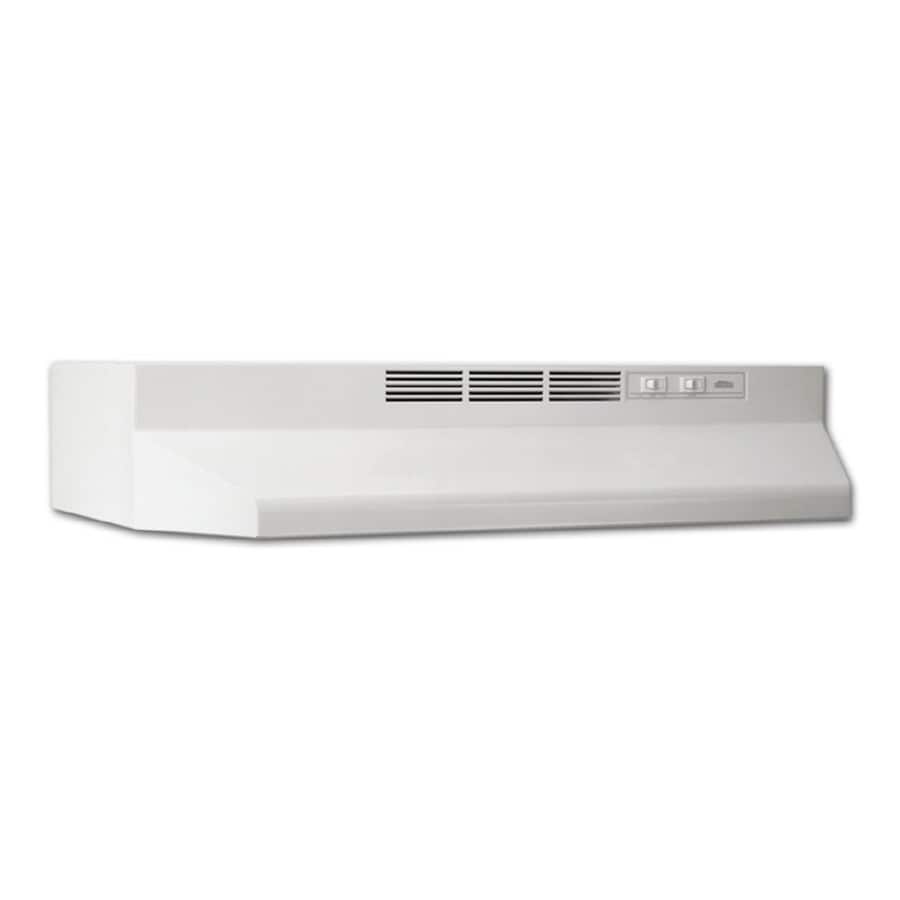 Broan Undercabinet Range Hood (White) (Common: 21-in; Actual: 20.87-in)