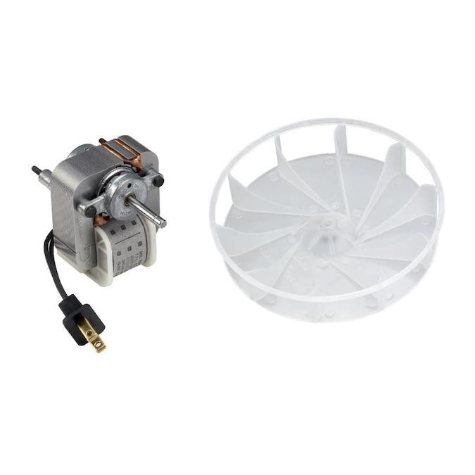 Broan Metal Bath Fan Motor in the Bathroom Fan Parts ...
