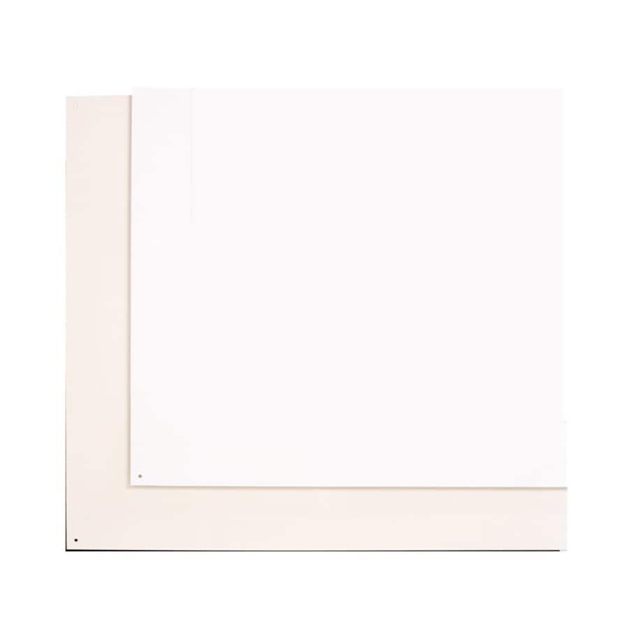 Broan Backsplash Plate White/Almond