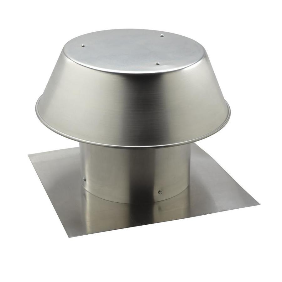 Broan Universal Roof Cap Aluminum At Lowes Com