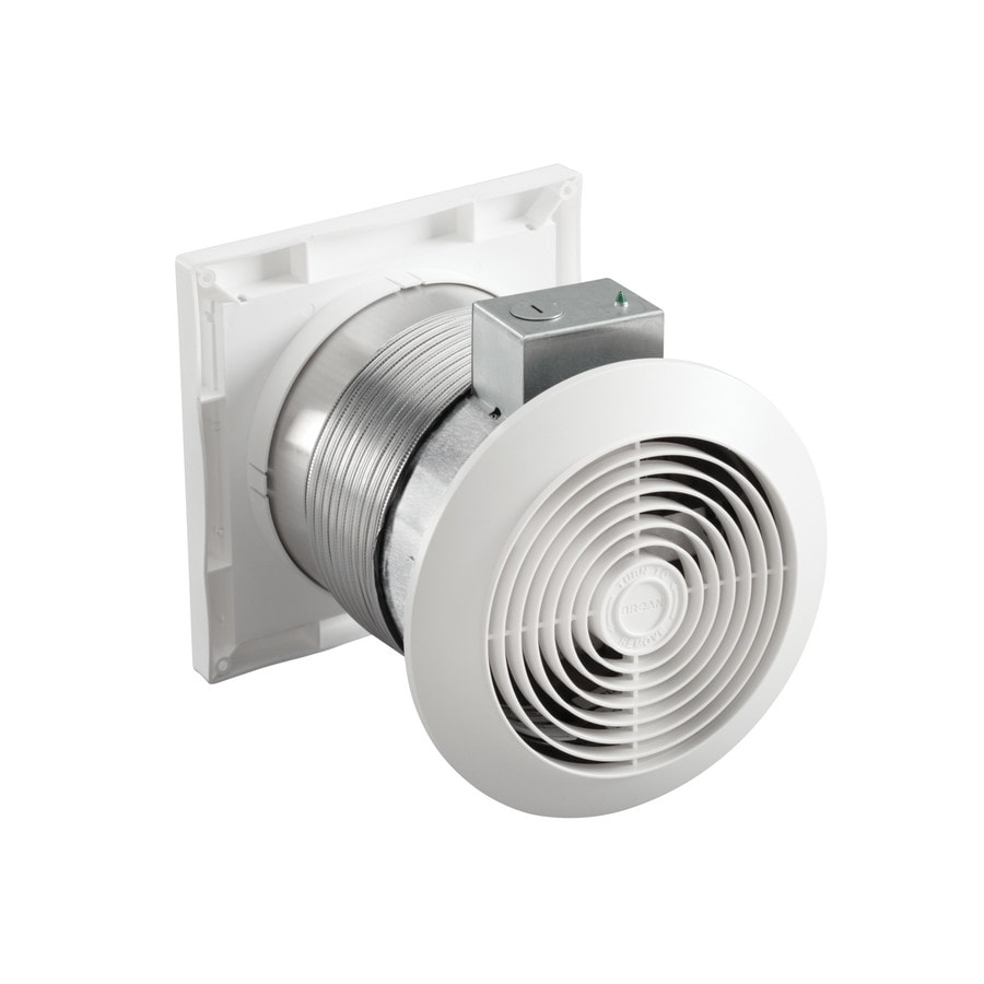 Through Wall Bathroom Exhaust Fans: Broan Through The Wall Utility Fan 3.5-Sone 70-CFM White