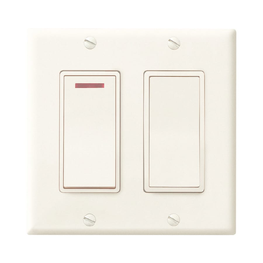 Shop Broan Double Pole Ivory Light Switch At Switches