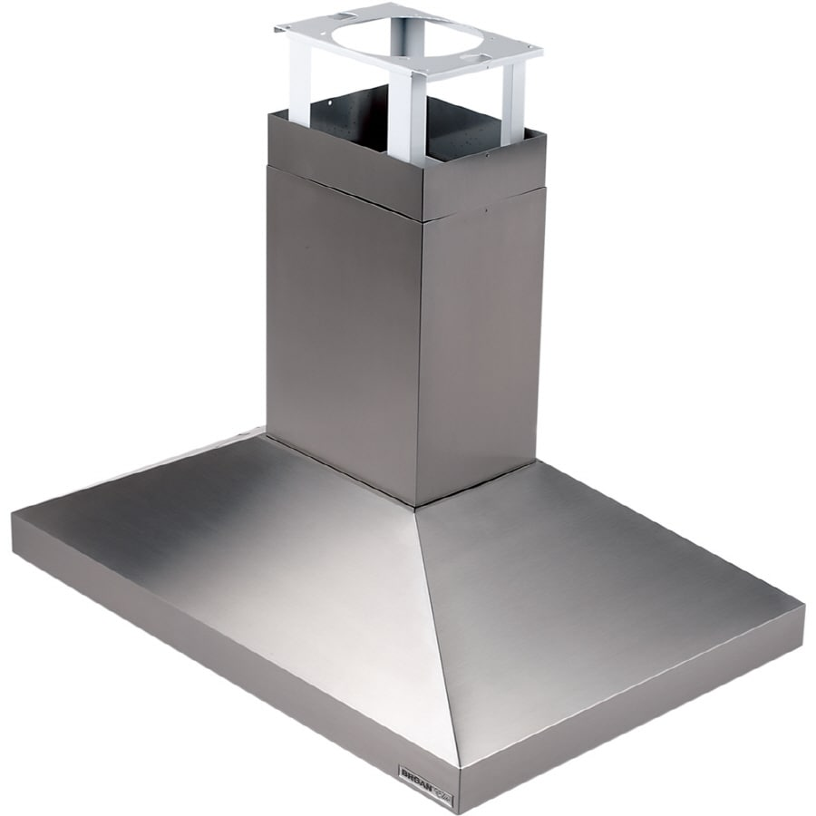Broan Ducted Island Range Hood Stainless Steel Common 40 In