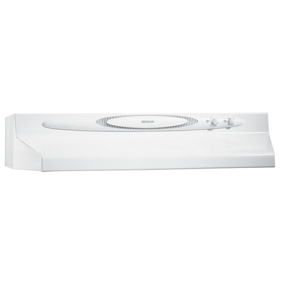 Broan Undercabinet Range Hood (White Monochromatic) (Common: 36-in; Actual: 35.87-in)