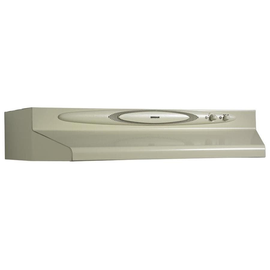 Broan Undercabinet Range Hood (Almond Monochromatic) (Common: 36-in; Actual: 35.87-in)