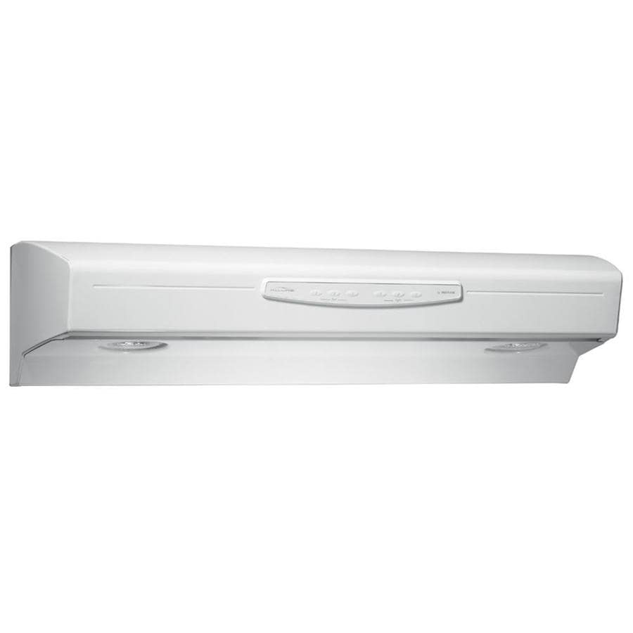 Shop Broan Undercabinet Range Hood Bisque Common 30 In