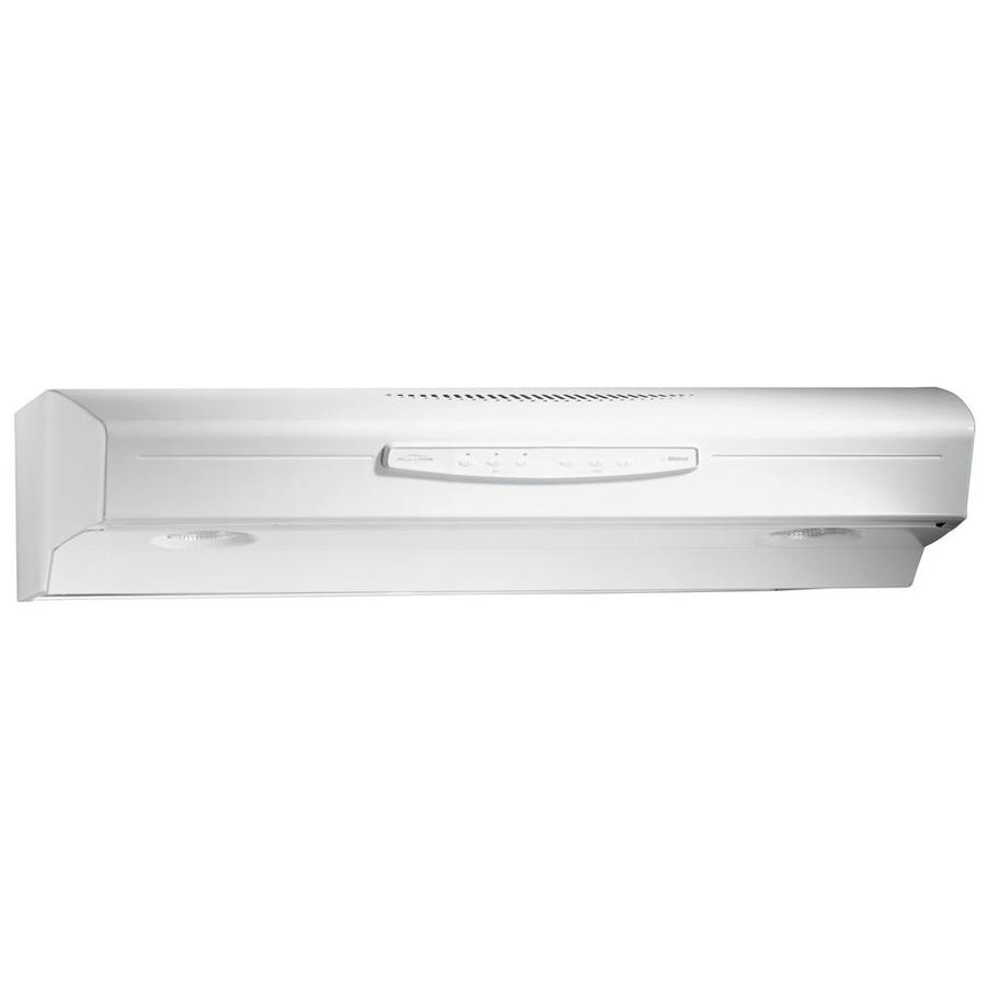 Broan Undercabinet Range Hood (White) (Common: 36-in; Actual: 35.8700-in)