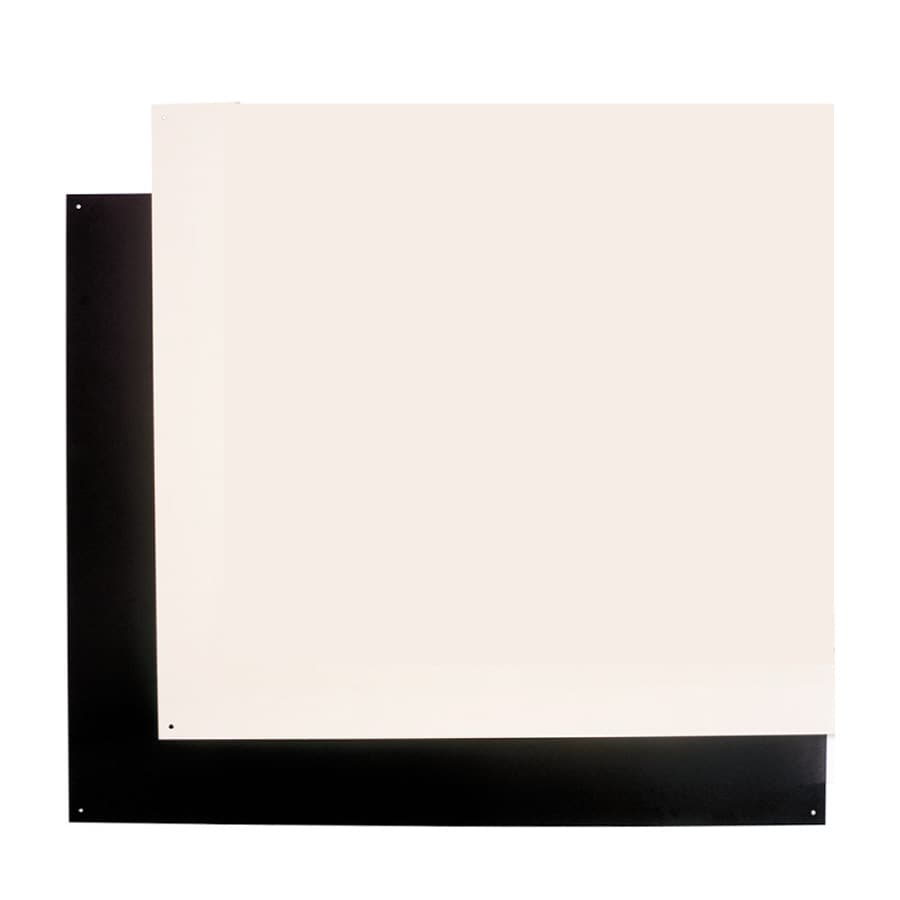 Broan Backsplash Plate Bisque/Black