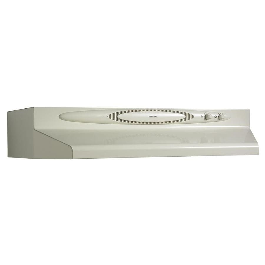 Broan Undercabinet Range Hood (Bisque Monochromatic) (Common: 36-in; Actual: 35.87-in)
