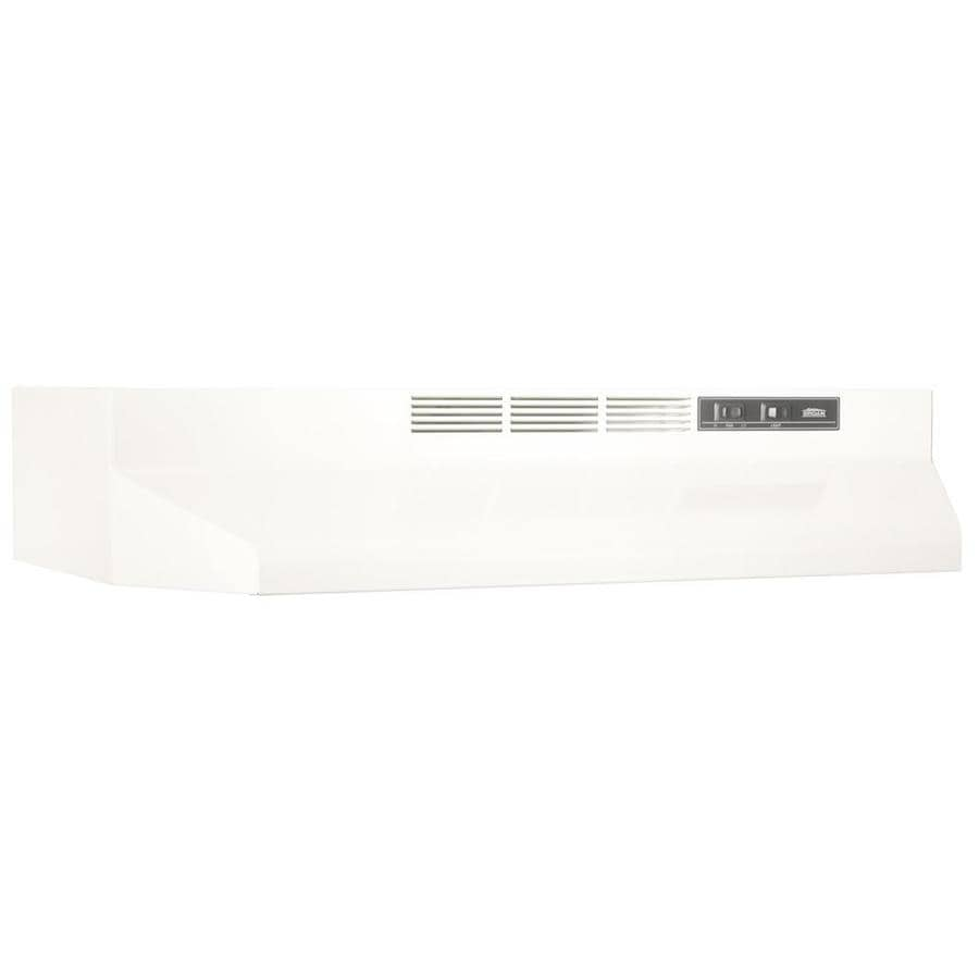 Broan Undercabinet Range Hood (Bisque/Black) (Common: 24-in; Actual: 23.87-in)