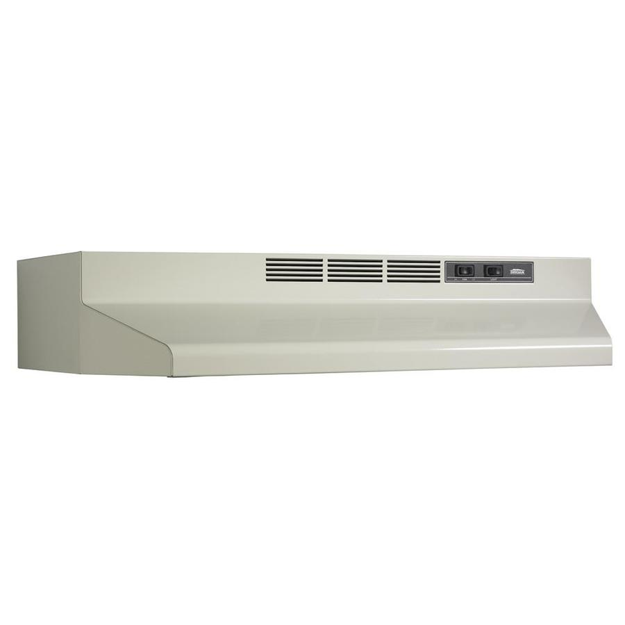 Broan Undercabinet Range Hood (Bisque/Black) (Common: 36-in; Actual: 35.87-in)