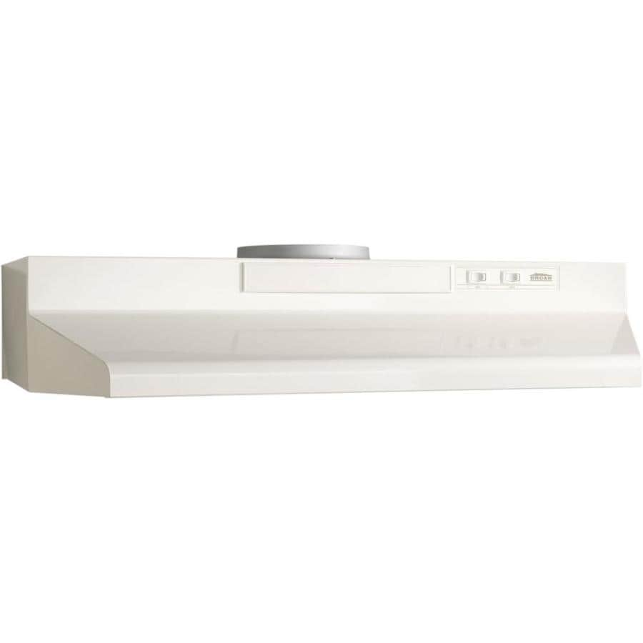 Broan Undercabinet Range Hood (Bisque Monochromatic) (Common: 30-in; Actual: 29.87-in)