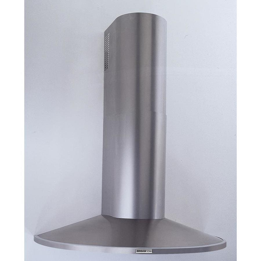 Broan Convertible Wall-Mounted Range Hood (Stainless steel) (Common: 36-in; Actual: 35.43-in)