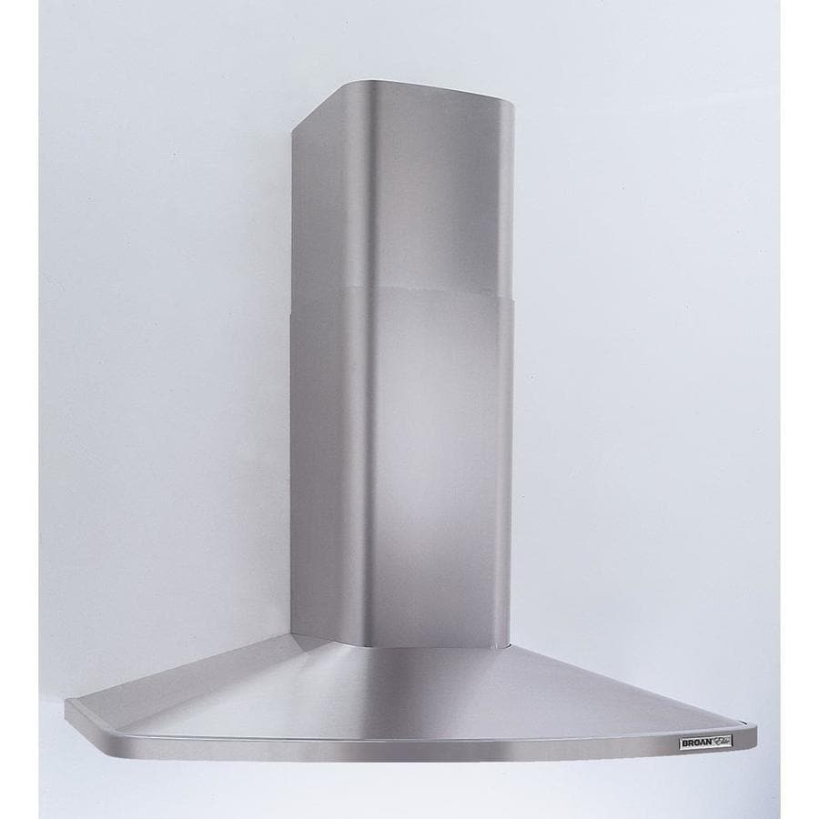 wall mount range hood shop broan convertible wall mounted range stainless 11072