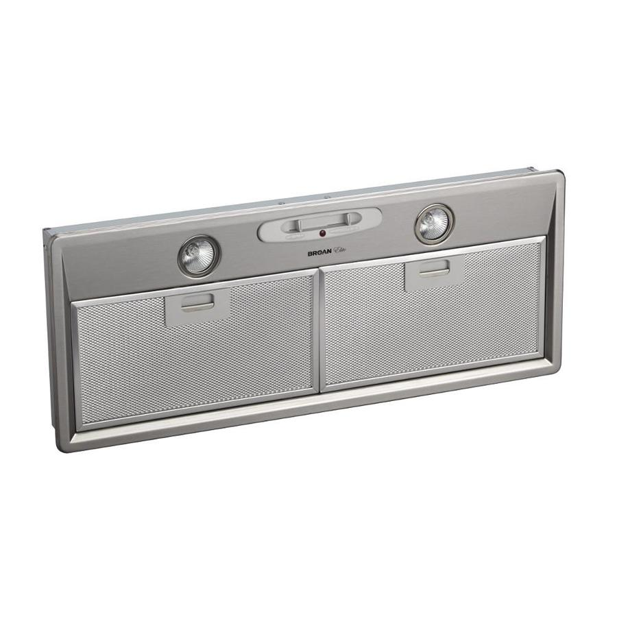 Broan Undercabinet Range Hood (Stainless Steel) (Common: 28-in; Actual: 27.56-in)