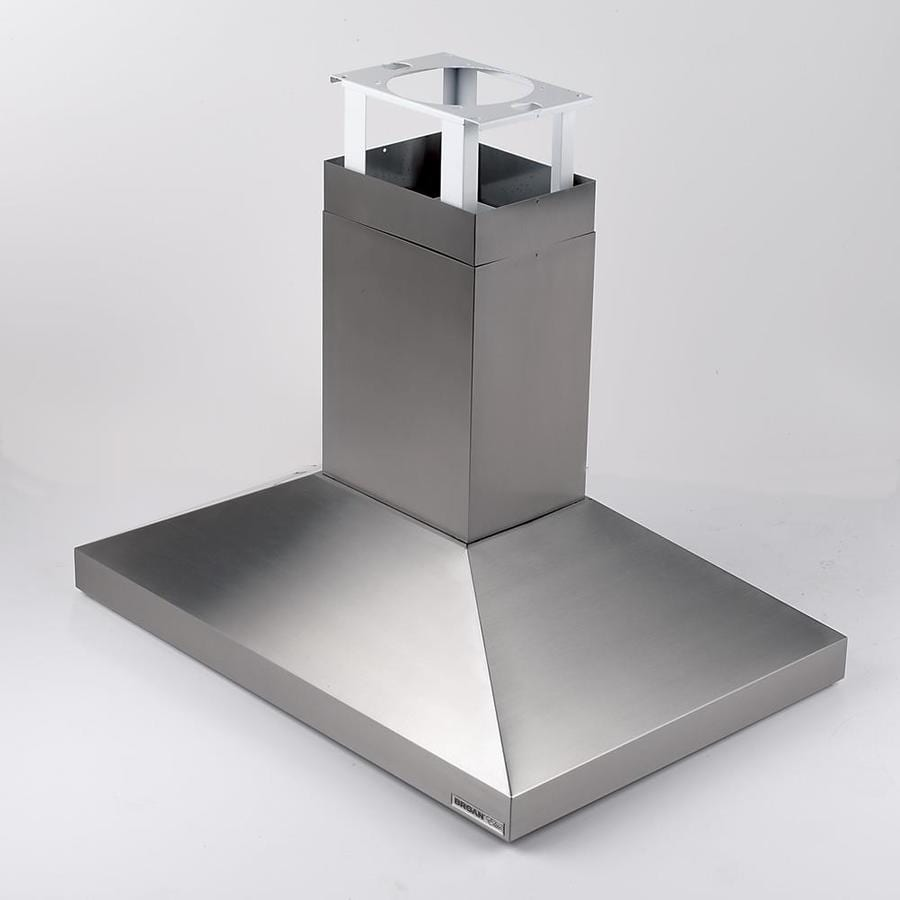 Shop broan ducted island range hood stainless steel for Broan vent a hood