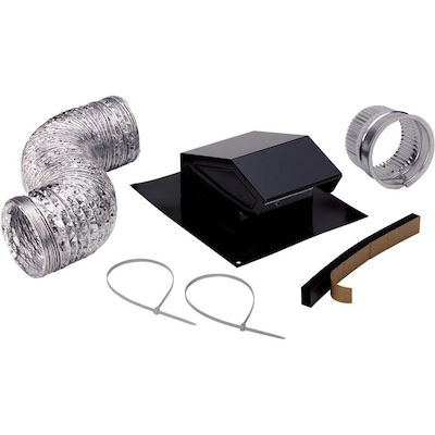 Broan Metal Roof Vent Kit In The Bathroom Fan Parts Department At Lowes Com