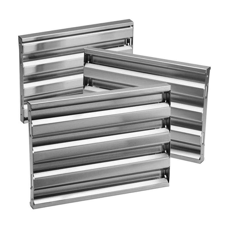 Broan Duct-Free Wall-mounted Range Hood Baffle Filter (Stainless Steel)