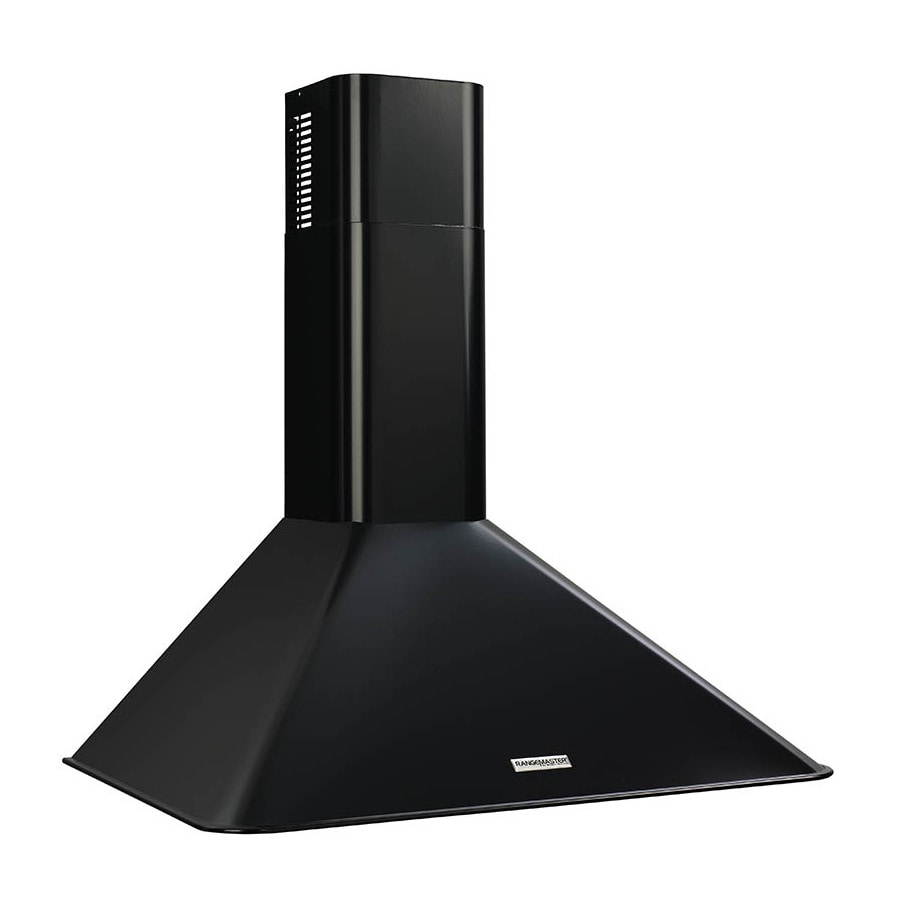 Broan Convertible Wall-Mounted Range Hood (Black) (Common: 30-in; Actual 30-in)