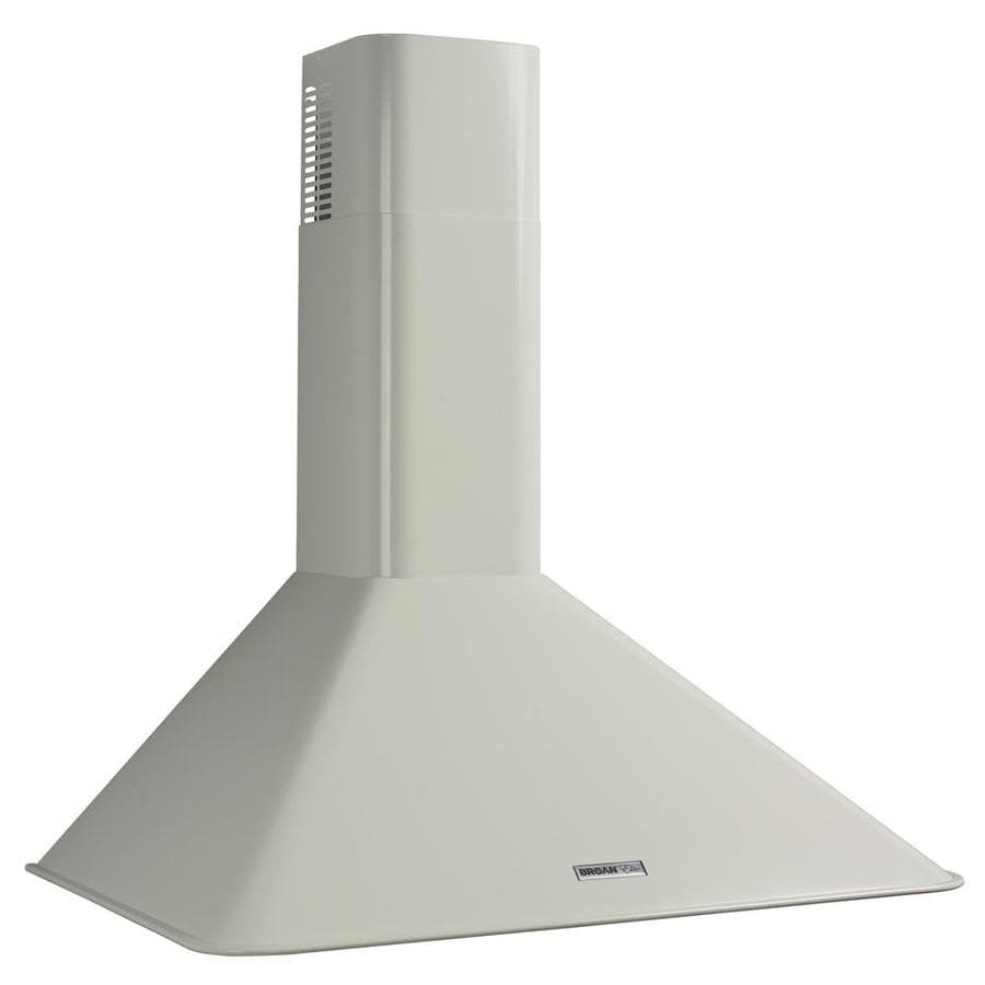 Broan Convertible Wall-Mounted Range Hood (White) (Common: 36-in; Actual 36-in)