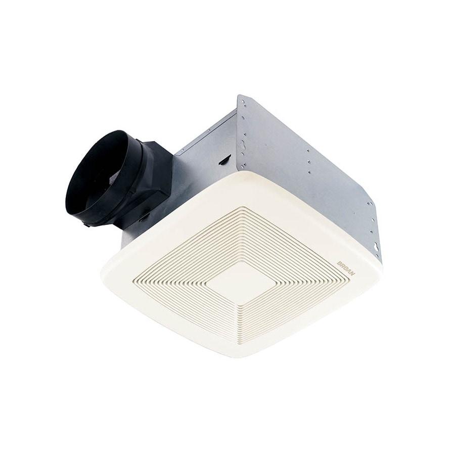 Shop Broan 0 3 Sone 110 Cfm White Bathroom Fan Energy Star: Shop Broan 0.3-Sone 50-CFM White Bathroom Fan ENERGY STAR