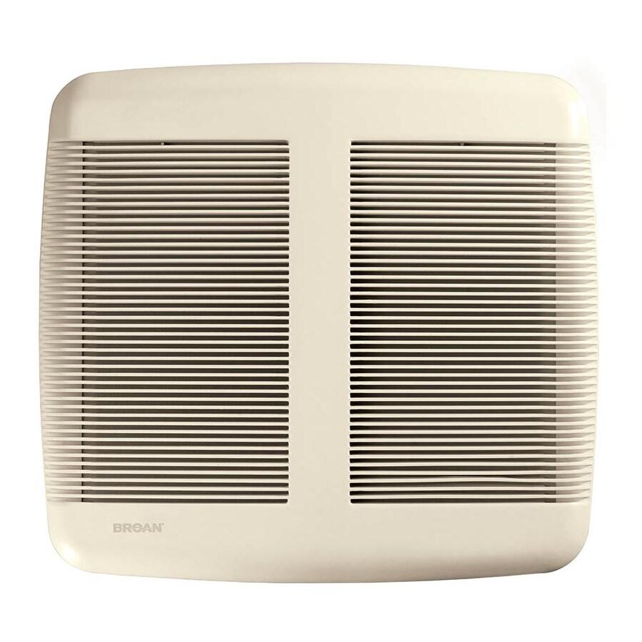 Broan 1.5-Sone 110-CFM White Bathroom Fan
