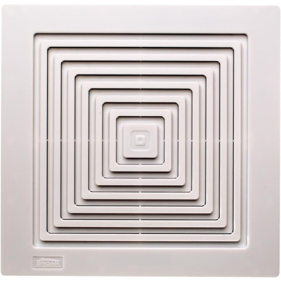 Shop broan polypropylene exhaust vent at for Bathroom exhaust fan lowes