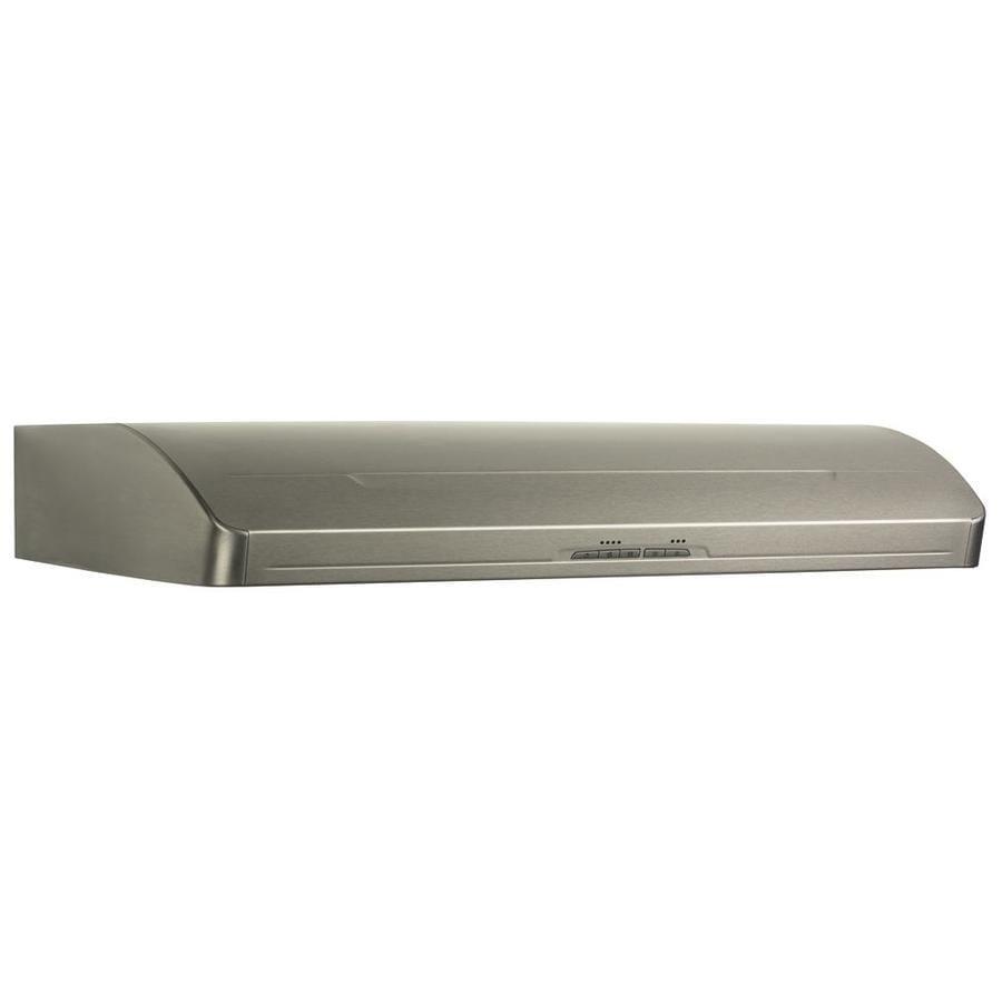 broan range hood stainless steel common 30in actual