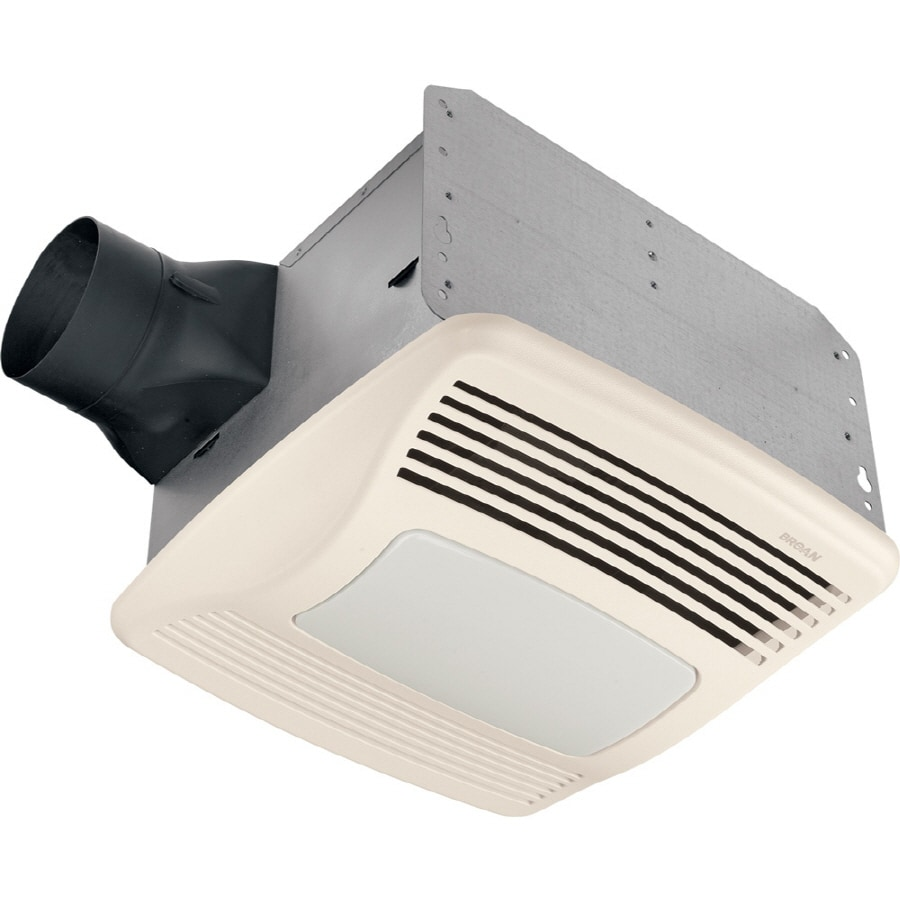 Broan 2-Sone 140 CFM White Bath Fan