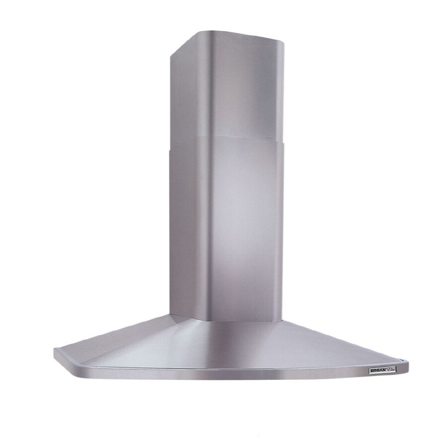 Broan Convertible Island Range Hood (Stainless Steel) (Common: 36-in; Actual 35.43-in)
