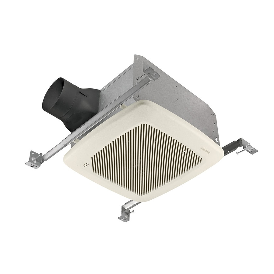 Broan 1.5-Sone 100-CFM White Bathroom Fan ENERGY STAR