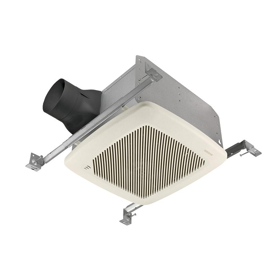 Broan 1.5-Sone 100-CFM White Bathroom Fan