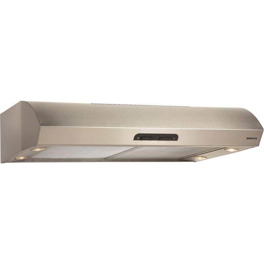 Broan Undercabinet Range Hood (Stainless Steel) (Common: 36-in; Actual: 35.87-in)