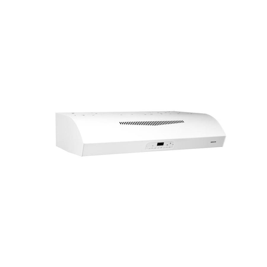 Broan Undercabinet Range Hood (White) (Common: 30-in; Actual: 29.87-in)