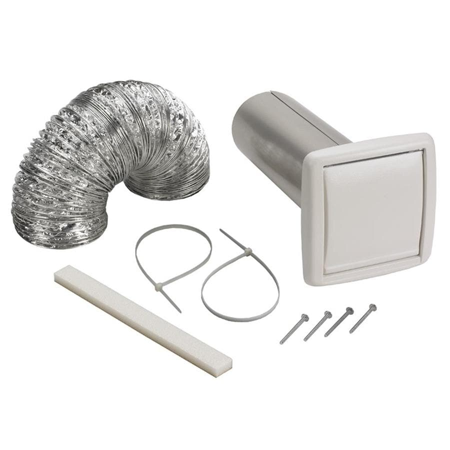 Shop Broan Polypropylene Wall Vent Kit At Lowes Com