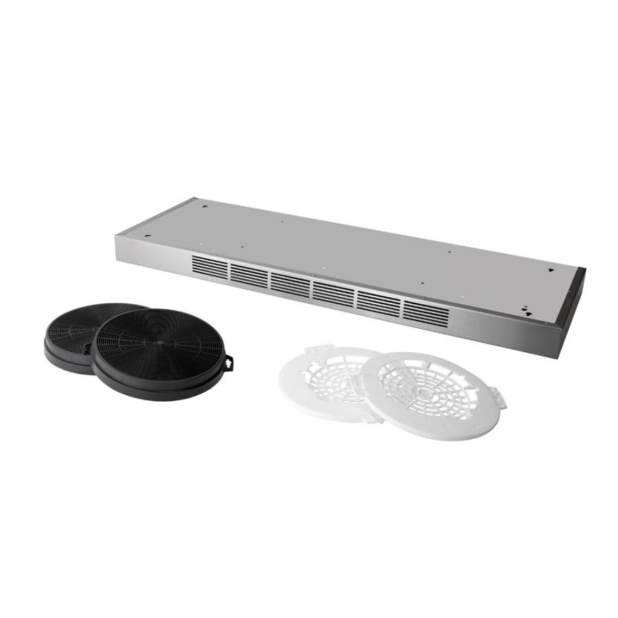 Broan Duct-Free Undercabinet Range Hood Recirculation Kit (Stainless Steel)