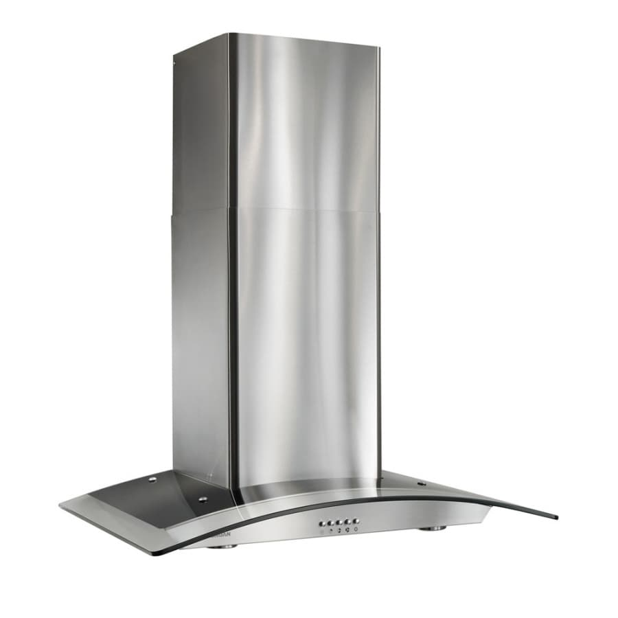 Attirant Broan Convertible Wall Mounted Range Hood (Stainless Steel) (Common: 30